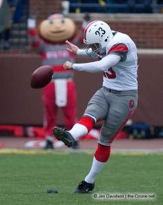 024 Devin Barclay Ohio State Michigan 2009 football