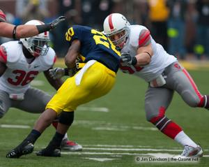 025 Ross Homan Brian Rolle Ohio State Michigan 2009 football