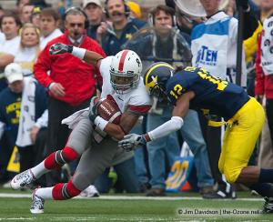 037 DeVier Posey Ohio State Michigan 2009 football