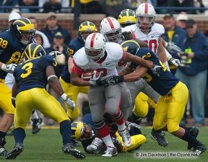 042 Brandon Saine Ohio State Michigan 2009 football
