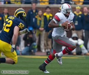 043 Terrelle Pryor Ohio State Michigan 2009 football