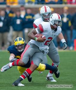 044 Terrelle Pryor Ohio State Michigan 2009 football