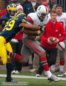 046 Terrelle Pryor Ohio State Michigan 2009 football