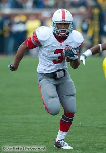 050 Brandon Saine Ohio State Michigan 2009 football