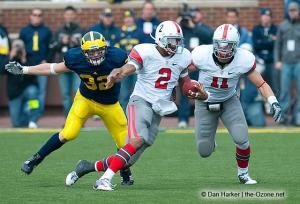 060 Terrelle Pryor Jake Stoneburner Ohio State Michigan 2009 football