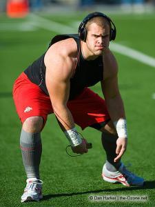 002 Zach Boren Ohio State football Michigan 2010