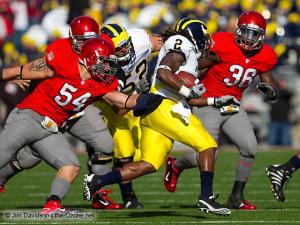 027 Brian Rolle John Simon Ohio State football Michigan 2010