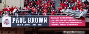 030 Paul Brown Plaque Ohio State football Michigan 2010