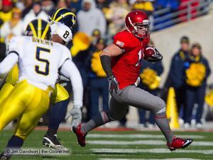 033 Jake Stoneburner Ohio State football Michigan 2010