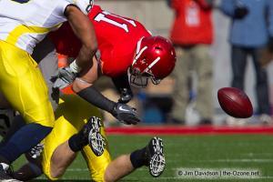 035 Jake Stoneburner Ohio State football Michigan 2010