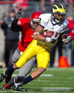 039 Jermale Hines Ohio State football Michigan 2010