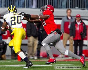 040 Ohrian Johnson Ohio State football Michigan 2010