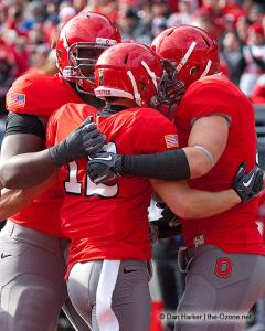 058 Dane Sanzenbacher Ohio State football Michigan 2010