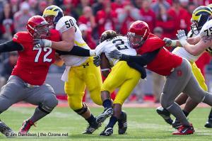 062 Dexter Larimore Ohio State football Michigan 2010