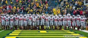 009 Pregame Ohio State Michigan 2011 The Game football