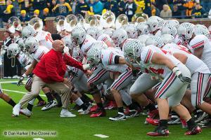 012 Pregame Ohio State Michigan 2011 The Game football