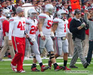 025 OSU captains Ohio State Michigan 2011 The Game football