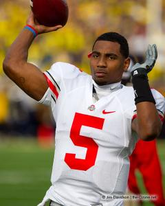 026 Braxton Miller Ohio State Michigan 2011 The Game football