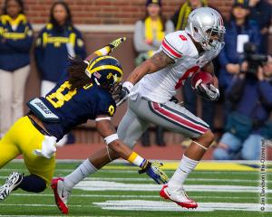 027 DeVier Posey Ohio State Michigan 2011 The Game football