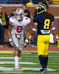 029 DeVier Posey Ohio State Michigan 2011 The Game football