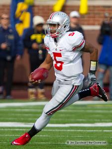 031 Braxton Miller Ohio State Michigan 2011 The Game football