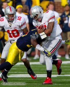 032 Corey Philly Brown Braxton Miller Ohio State Michigan 2011 The Game football