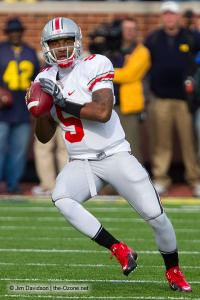 033 Braxton Miller Ohio State Michigan 2011 The Game football