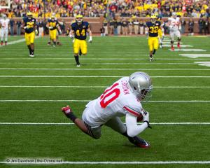 034 Corey Philly Brown Ohio State Michigan 2011 The Game football