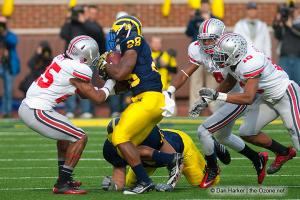 037 Jaamal Berry Bradley Roby Corey Pitt Brown Ohio State Michigan 2011 The Game football