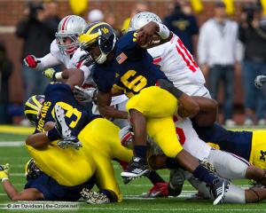 039 Ryan Shazier Ohio State Michigan 2011 The Game football