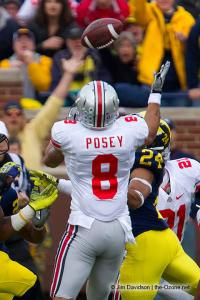044 DeVier Posey Ohio State Michigan 2011 The Game football