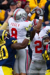 045 DeVier Posey Ohio State Michigan 2011 The Game football