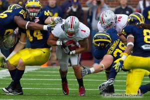 046 Boom Herron Ohio State Michigan 2011 The Game football