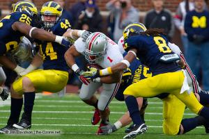 047 Boom Herron Ohio State Michigan 2011 The Game football