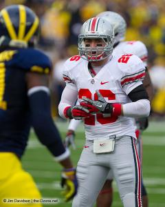 050 Tyler Moeller Ohio State Michigan 2011 The Game football