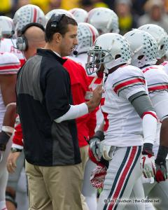 051 Dominic Clarke Luke Fickell Ohio State Michigan 2011 The Game football