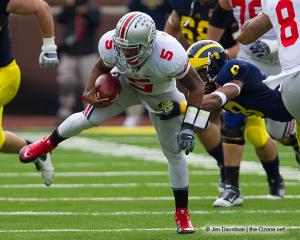 057 Braxton Miller Ohio State Michigan 2011 The Game football