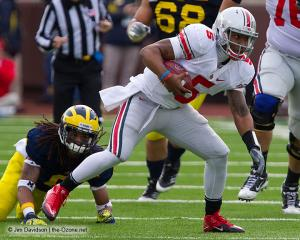 059 Braxton Miller Ohio State Michigan 2011 The Game football