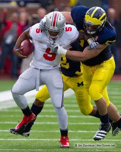 060 Braxton Miller Ohio State Michigan 2011 The Game football