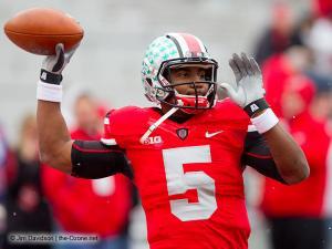 003 Braxton Miller Pregame Ohio State Michigan 2012
