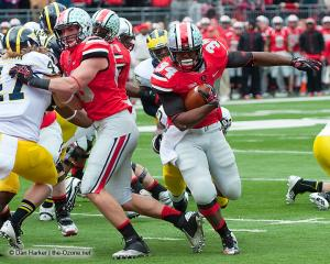 026 Jeff Heuerman Carlos Hyde Ohio State Michigan 2012