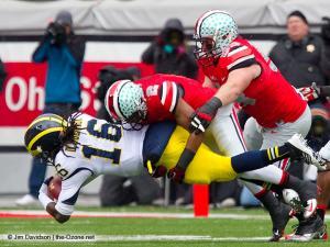 035 Christian Bryant Garrett Goebel Ohio State Michigan 2012