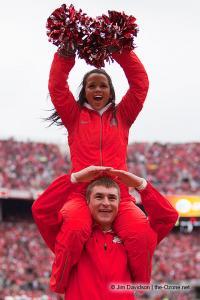 042 Cheerleaders Ohio State Michigan 2012
