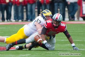 054 Braxton Miller Fumble Ohio State Michigan 2012