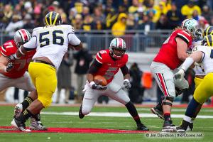 056 Braxton Miller Corey Linsley Andrew Norwell Ohio State Michigan 2012
