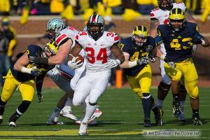 011 Carlos Hyde Ohio State Michigan 2013