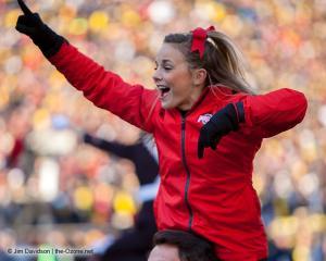 027 Cheerleaders Ohio State Michigan 2013