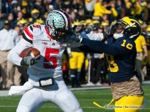 041 Braxton Miller Stiffarm Ohio State Michigan 2013