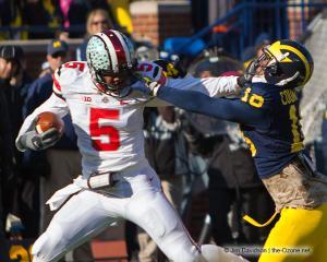 043 Braxton Miller Stiffarm Ohio State Michigan 2013