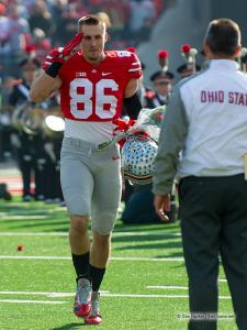 017 Jeff Heuerman Ohio State Michigan 2014